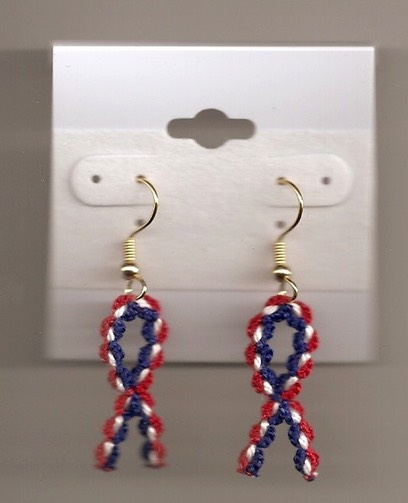 Earring Support Our Troops